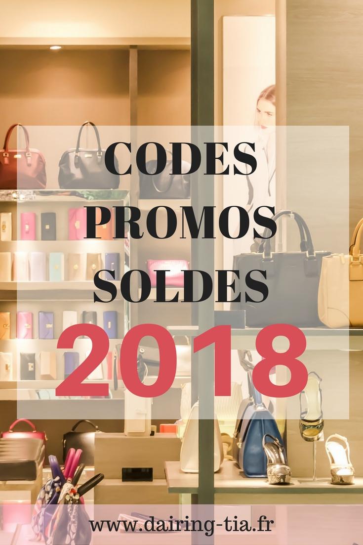 Codes promos des Soldes hiver 2018