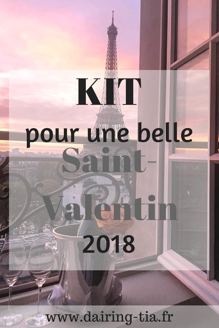 Kit pour une belle Saint-Valentin 2018