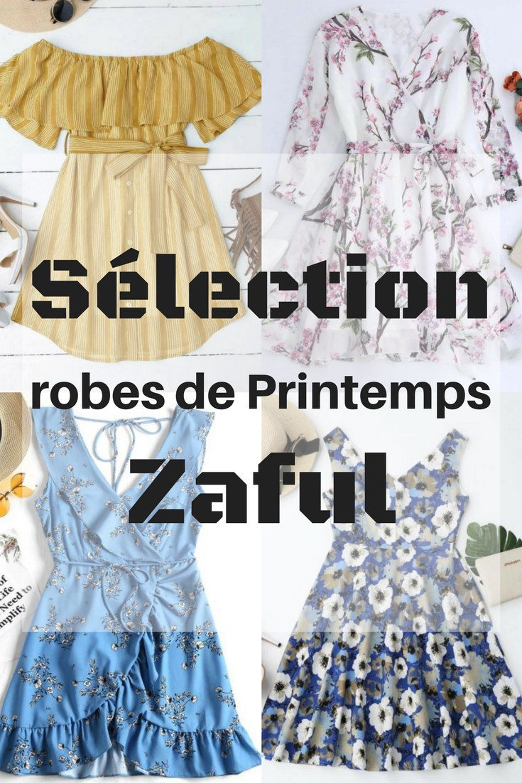 Wishlist robe de printemps Zaful