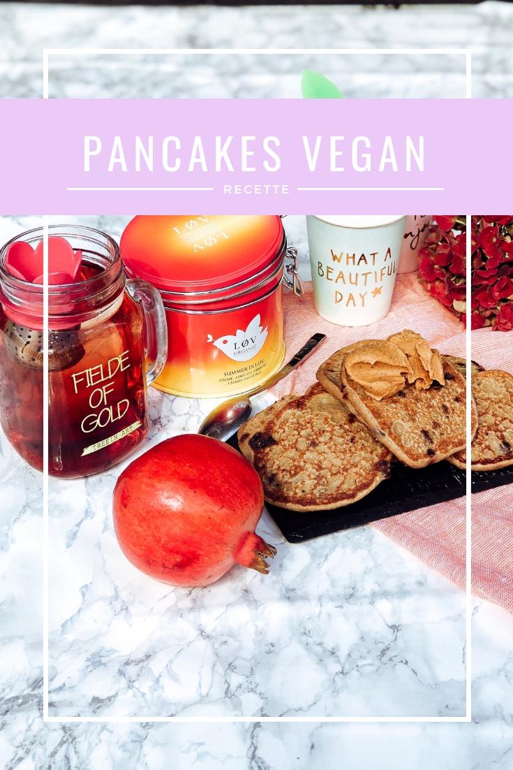 Pancakes vegan : ma recette (ultra validée)