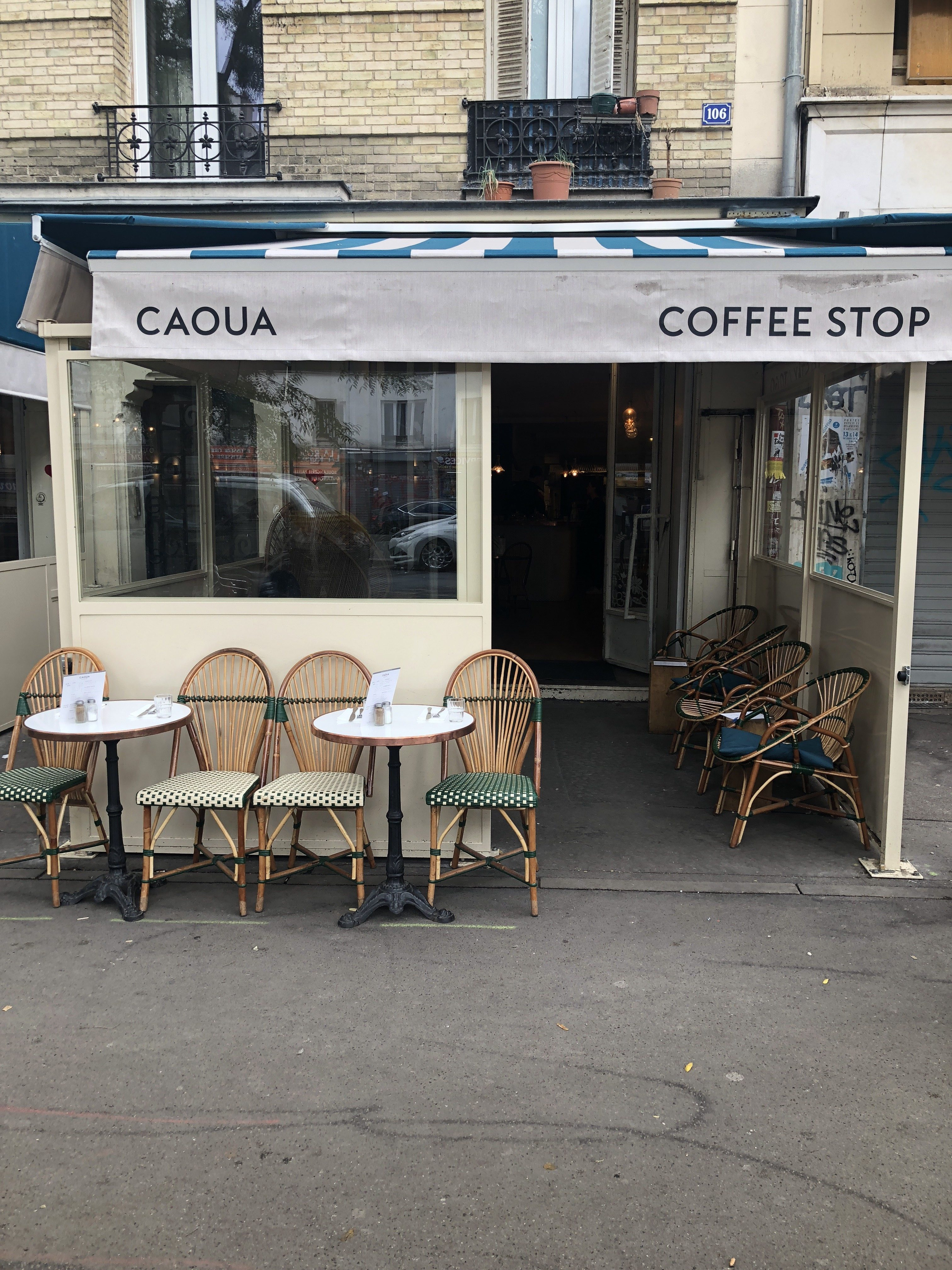 CAOUA COFFEE STOP : LE BRUNCH DE BELLEVILLE